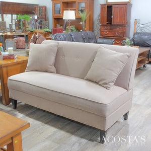Orig. Price $600 - Settee with 2 throw pillows