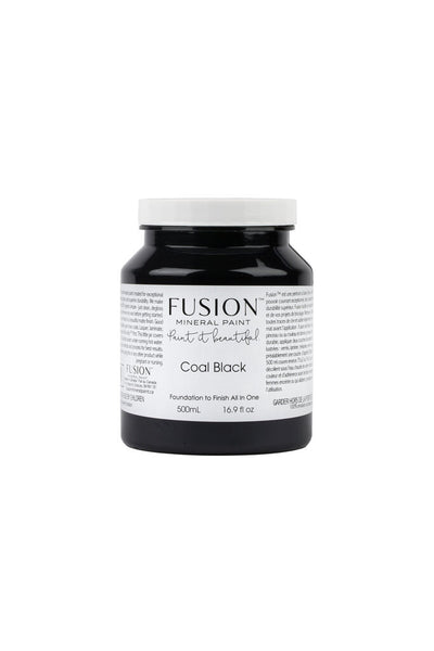 Fusion Mineral Paint-COAL BLACK (Pint)