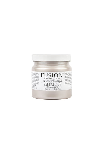 Fusion Mineral Paint-METALLIC CHAMPAGNE (Half Pint)