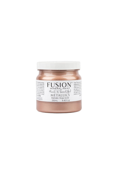 Fusion Mineral Paint - METALLIC Rose Gold (Half Pint) 8.45oz