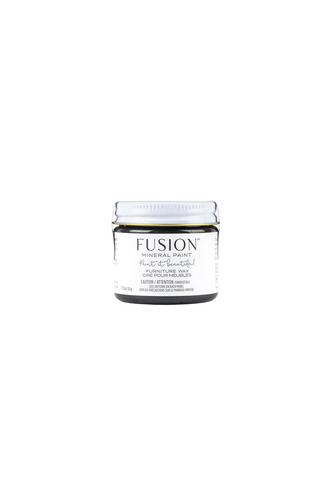 Fusion Mineral Paint-Wax Black - Acosta's Home