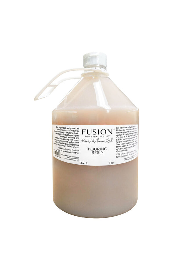 Fusion Mineral Paint - Pouring Resin