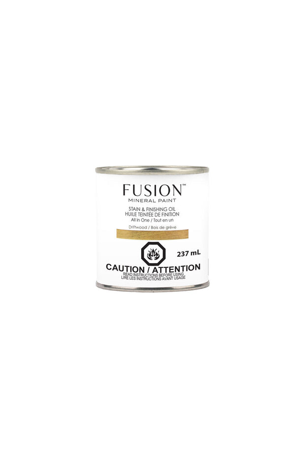 Fusion Mineral Paint-Stain & Finishing Oil-Driftwood