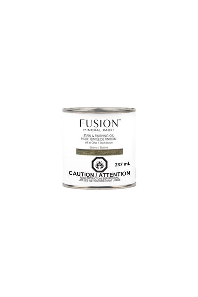 Fusion Mineral Paint-Stain & Finishing Oil-Ebony