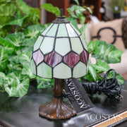AS-IS Small Stained Glass Shade Nightlight