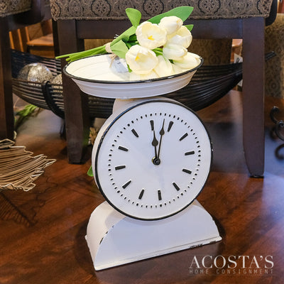 Kitchen Scale Clock - Acosta's Home