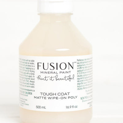 Fusion Mineral Paint-Tough Coat Clear 16.9 fl oz