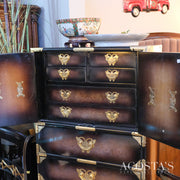 Asian Style Lingerie / Locking Jewelry Chest