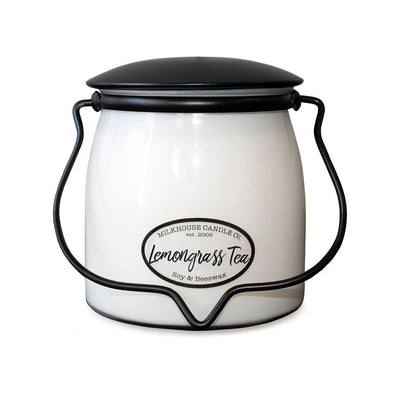 Milkhouse Jar Candle- Lemongrass Tea - Acosta's Home