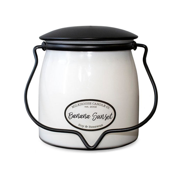 Milkhouse Jar Candle - Banana Sunset - Acosta's Home