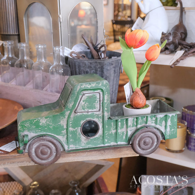 Green Truck Wall Hanging