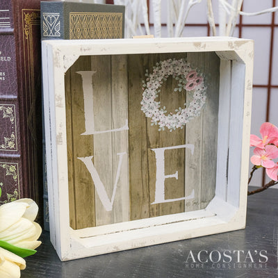 Love Crate Sign
