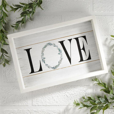 Love Shadow Box Sign