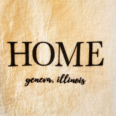 Home Geneva Cotton Tea Towel - Acosta's Home