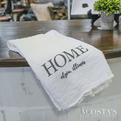 Home Elgin Cotton Tea Towel - Acosta's Home