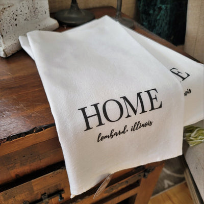 Home Lombard IL Cotton Tea Towel