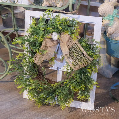 Bunny Bow Wreath - Acosta's Home