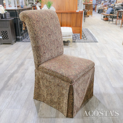 Orig. Price $350 - Skirted Parsons Chair