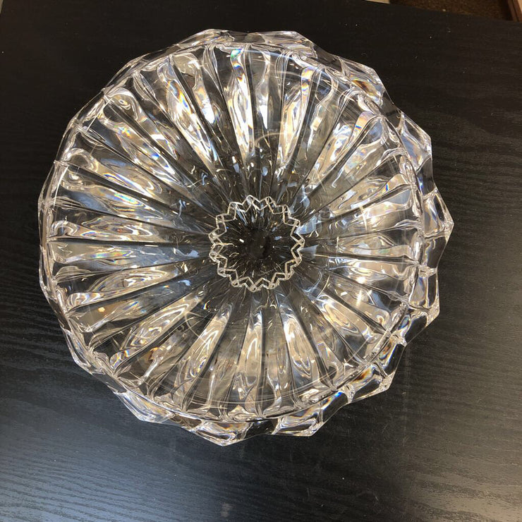 Prism Cut Crystal Bowl