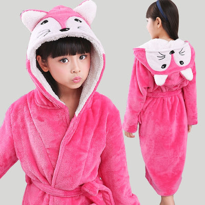 Rabbit Hooded Bath Robe - Bold & Fierce