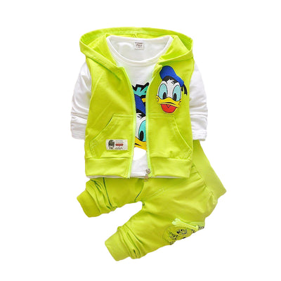 Donald Duck Jacket Pant Clothing Sets - Bold & Fierce