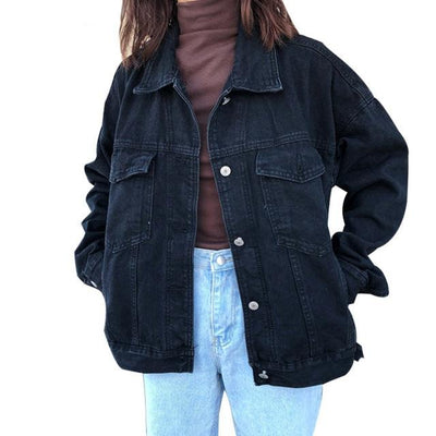 Vintage Jeans Coat - Bold & Fierce