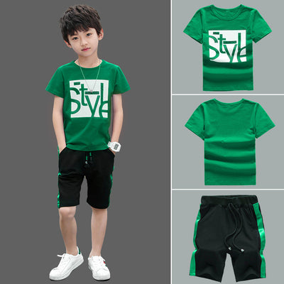 T-Shirt + Shorts Pants Clothes Sets - Bold & Fierce