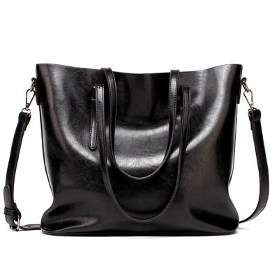 Interior Compartment Leather Handbags - Bold & Fierce