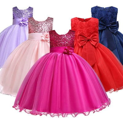 Princess Cotton Party Dress - Bold & Fierce