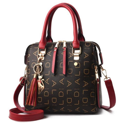 Large Capacity PU Leather Handbags - Bold & Fierce