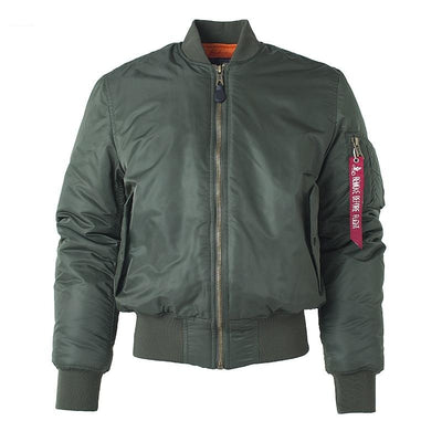 Rib Sleeve Tactical Bomber Jacket - Bold & Fierce
