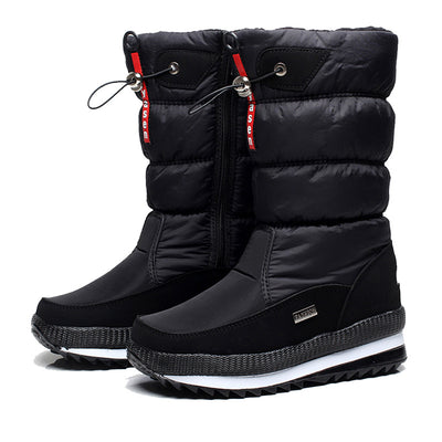 Thick plush waterproof non-slip boots - Bold & Fierce