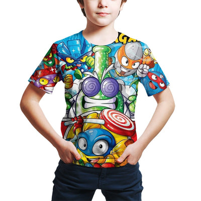 Super Zings Serie 4 T-Shirt - Bold & Fierce