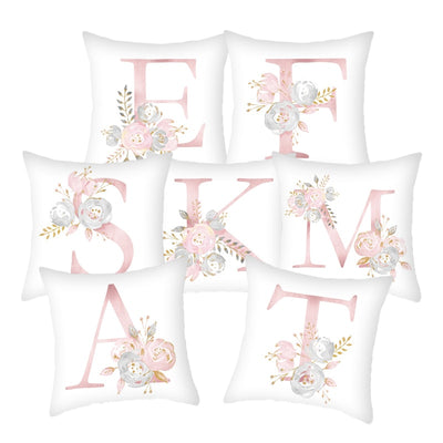Letter Printed Polyester Pillow Cover - Bold & Fierce