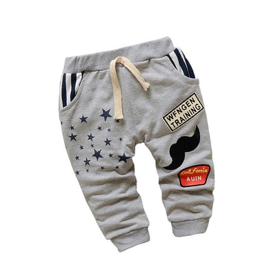 Cute Cartoon Baby Cotton Pants - Bold & Fierce