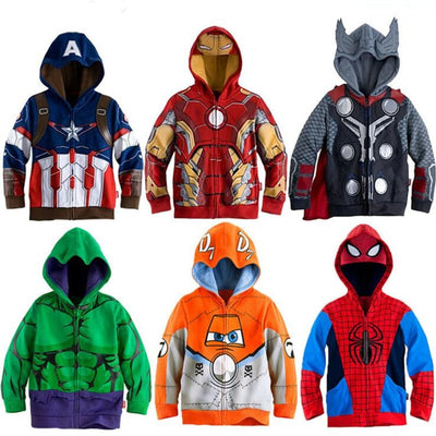 The Avengers Superhero Sweatshirt - Bold & Fierce