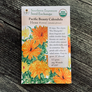Calendula, Pacific Beauty