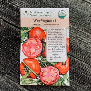 West Virginia 63 Tomato (Centennial)