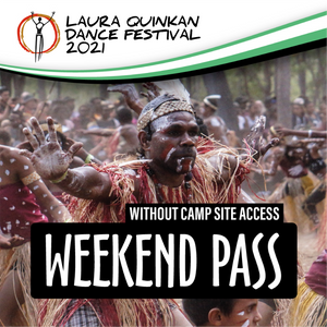 3 Day Weekend Pass (without Camp Site Access)