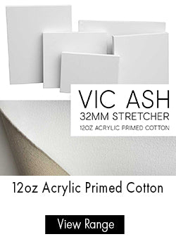 Parkers Custom Stretched Canvas - 12oz Acrylic Primed Cotton