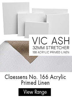 Parkers Custom Stretched Canvas - Claessens 166 Acrylic Primed Linen