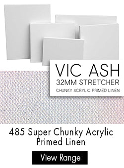 Parkers Custom Stretched Canvas - Claessens 485 Acrylic Primed Linen