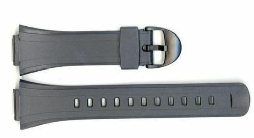 Casio 27/16mm Black Resin Replacement Watch Band 10090624