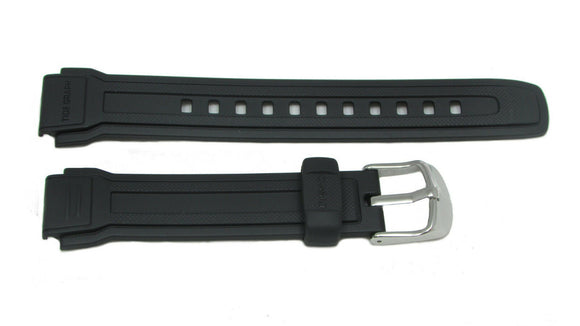 Casio 22.5/17mm Black Resin Forester Sports Watch Band 10216858