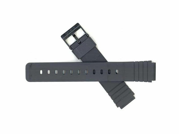 Casio 10224223 Black Resin Watch Band Fits