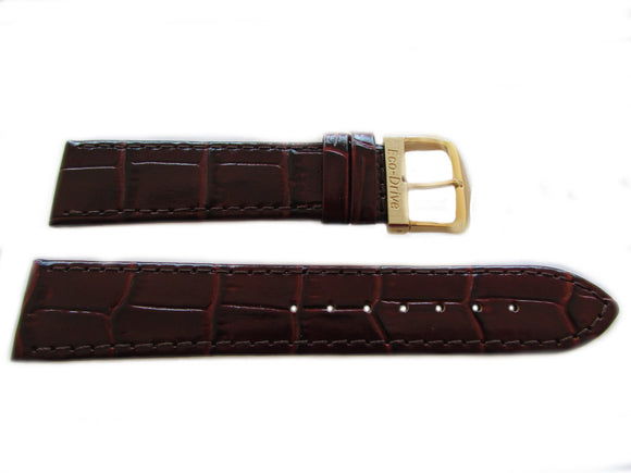 Citizen 59-S50033 Brown Alligator Grain Watch Band 20mm