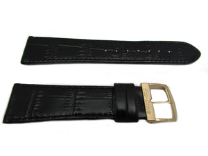 Citizen 59-S50527 Eco-Drive Black Alligator Grain Leather Watch Band 21mm Same as 59-T50049