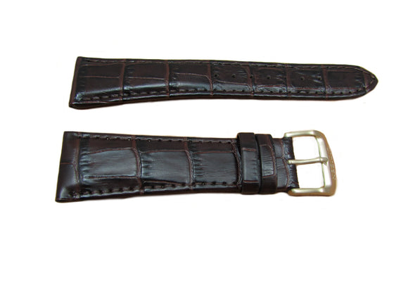 Citizen 59-S52102 Alligator Grain Brown Leather Watch Band 23mm Same as 59-S52221