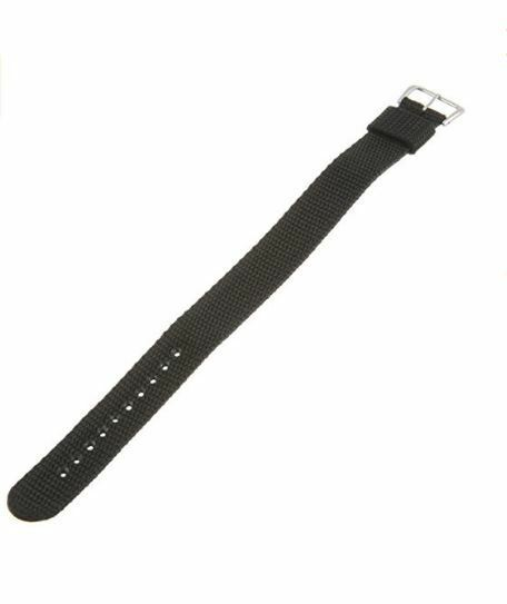 Timex Men's Q7B733 Performance Nylon Sport Wrap 20mm Black Replacement Watchband