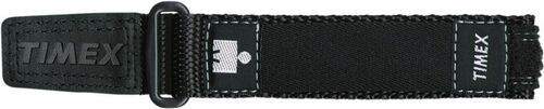 Timex Men's Q7B817 Ironman Sport Wrap 16-20mm Replacement Black Watchband strap